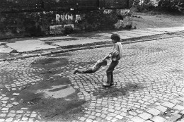 Silesian children playing on the street II. RUDA ŚLĄSKA 2001