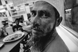 A man i had met in the restaurant during ramadan in Al Hamriyah.