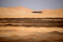 Ramlat Fasad. Dune study #3